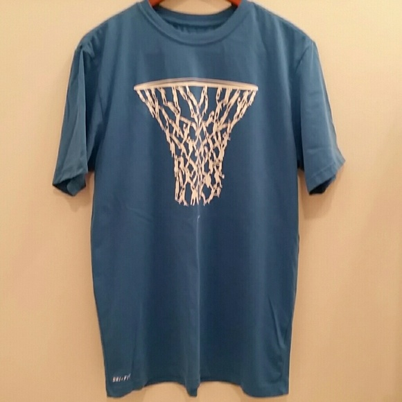 981e3e8c Nike Shirts | Drifit Basketball Hoop Tshirt | Poshmark